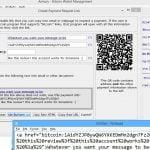 Get bitcoin links as html