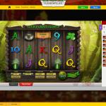 A range of slot games