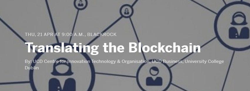 translating the blockchain