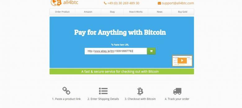 Enter the URL into all4btc.com