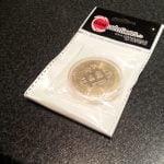 We bought a bitcoin coin